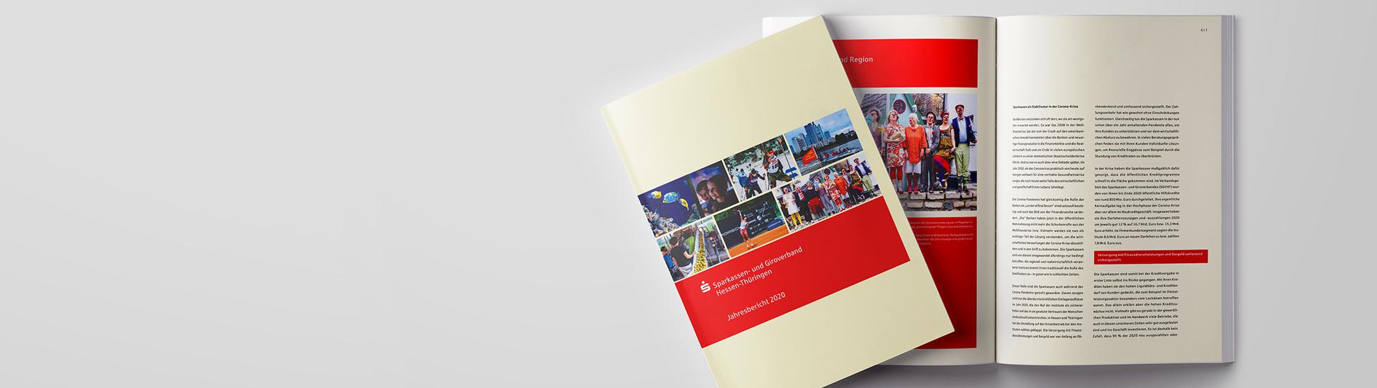 Der Jahresbericht des Sparkassen- und Giroverbandes ist erschienen